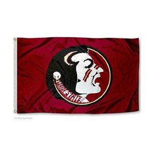 Bandeira de Florida-Estado-University-Seminoles Bandeira NCAA 3x5FT 150x90cm 100D Poliéster Impressão Hanging Bandeira com latão Grommets frete grátis