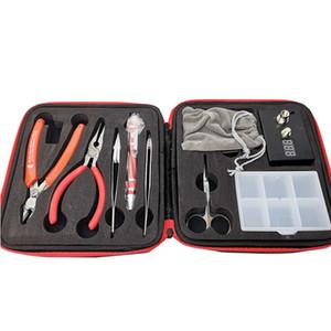 Rda DIY Kit ferramenta Rebuildable Vapor Bobina Mestre Kits Ohm Medidor Kuro Koiler Bobina Jig Kbag para RBA Atomizer Bobinas Frete Grátis