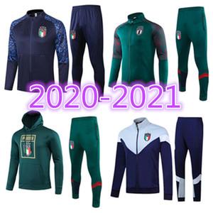 Top 2020 2021 traje de la formación de adultos Italia Europea 20 21 chándal ITALIANO INSIGNE Verratti MARCHISIO GHIELLINI chandal chaqueta de chándal