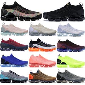 Sıcak satış Fly Örgü 2.0 Running Eğitmenler Beyaz Siyah metalik altın koyu sıva Erkekler Kadınlar stilist Spor Ayakkabı koyu gri moda Spor ayakkabılar