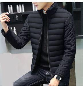 Herren Stehkragen Winterjacke Warme Designer Freizeitjacke Herren Leichte Oberbekleidung Neue Mode Herren Bekleidung