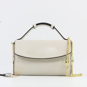 Fashion and Quality in 2019 The hottest brand recommended ladies shoulder bag designer rhombic chain messenger bag high quality commuter han