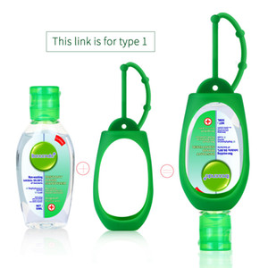 gel desinfectante para las manos 50ml 75% esterilización alcohol, bacteriostático, portable, desinfectante de agua de la mano libre