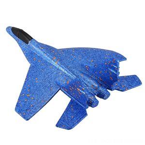 DIY brinquedos dos miúdos mão jogando Modelo de Avião Foam Aircraft conluio Luminous Educação Epp Glider Aviões de combate de brinquedos para as crianças elétrica / RC Ca