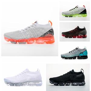 nike air Vapormax max Off white Flyknit Utility zapatos hombres y mujeres corriendo hombres deportes impacto Corss senderismo trotar zapatos para caminar al aire libre 5-12