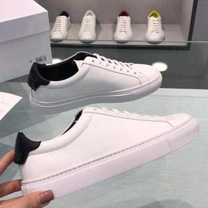 19ss GIV uomini di cuoio donne scarpe casual lettera Piccoli scarpe mostri degli uomini di moda in vera pelle di colore misto TT2