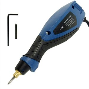 Eu Enchufe Mini amoladora máquina de la talla para la herramienta de pluma potencia de grabado herramienta de grabado Metal Madera Electric Glass Grinder