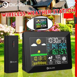 Digital Weather Station Wireless + coperta sensore di temperatura esterna Instruments Igrometro Termometro Orologio