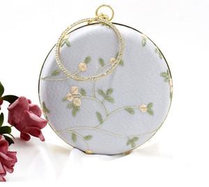 Archaïsant Sacs brodés pour les filles petits sacs ronds avec Han éléments sacs à main Costumes douaniers anciens Han vêtements chinois