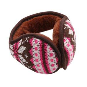 Vendita calda paraorecchie abbigliamento Accessori Unisex paraorecchie invernali dell'orecchio Paraorecchi Wrap Banda Warmer earlap regalo Neve Flover maglia # p7