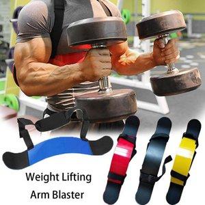 Peso de elevación del brazo Blaster de aluminio ajustable de bíceps tríceps Curl Bombardero muscular del brazo de elevación Training equipo de la aptitud