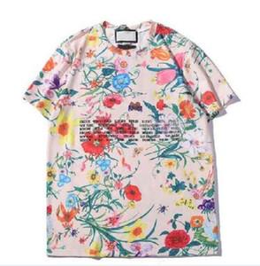 رجل إمرأة تصميم تي شيرت الشارع الشهير عشاق باريس الصيف طاقم الرقبة بلايز العلامة التجارية بلايز المراهقين قصير كم T-ShirtsXXLكابا