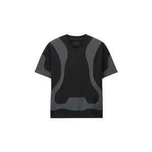 Logotipo de Best Versión Andys Europena camiseta de manga corta impresión trasera cómodo Hombres Mujeres camiseta de los pares HFWPTX381