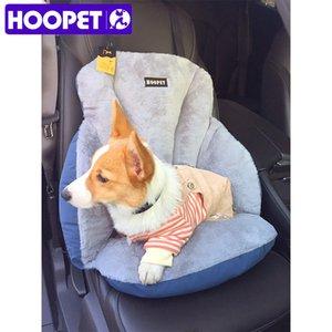 HOOPET Pet Dog Carrier Car Seat Warm Winter Cover Dog Car Soft Mat Back Seat Mat Cushion Pets Supplies T200618