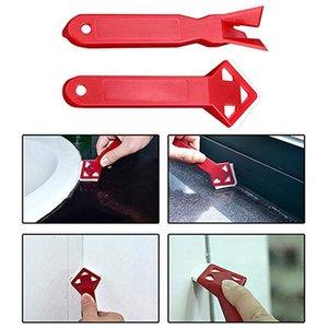 2pc / set professionale per silicone sigillante di rimozione assente Angolo raschietto silicone Grout Remover spalmatore Spatola raschietto attrezzo facile da pulire