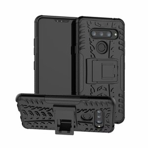6.4 inch For LG V 40 Case Heavy Duty Armor Shockproof Hybrid Kickstand Hard Rugged Rubber Phone Cover For LG V40 Case