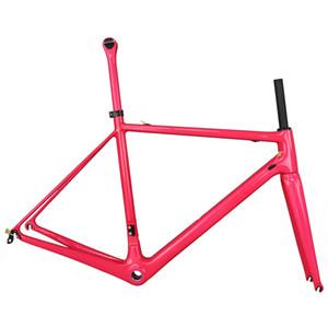 2019 новейший розовый fm066 углерода рама новый T1000 полный углеродного волокна кадр полный кадр велосипед New EPS Technology