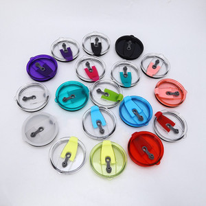 Top Quality 18 Colors 30 oz Cup Lid Waterproof Seal Cover Replacement Resistant Proof Mugs Lids Drinkware Lids ZZA1391