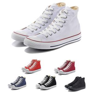 21S холст 1970-х Star Ox Роскошные дизайнерские туфли Hi реконструированный Slam Jam черный раскрыть Белый мужские женские спортивные кроссовки 36-44