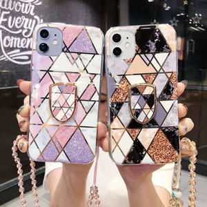 Luxury Designer strass Phone Case pour iPhone 12 Mini 12 Pro 11 Max Xr X X antichocs Shell pour l'iPhone SE 2020 7 8 Plus 6s 6