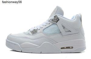 Обувь баскетбольного официальных 4S 4S Синего IV Kaws женщины людей Спорт Zapatos MujerAthletic ботинок тапок с коробкой выпускного 4DB4I