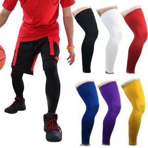 rodilleras de baloncesto de fútbol para adultos rodilla de la pata de soporte de rodilla protector de la manga Becerro Soporte de esquí rodillera Seguridad Deportiva