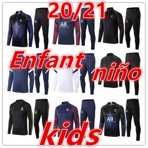 2020 2021 أطفال جديدة حقيقية دعوى التدريب مدريد رياضية مجموعات لكرة القدم الفانيلة 20 21 طفلا تدريب كرة القدم كرة القدم رياضية الركض سترة عدة