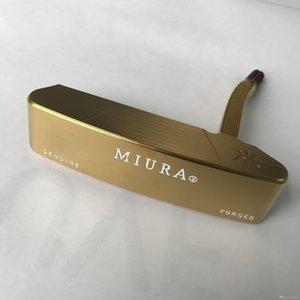 MIURA Putter-Kopf-Forged Carbon Steel komplett CNC-gefräste Marken Golfschläger Putter Rechte Hand Sport (Nur der Kopf, ohne Schaft und Griff