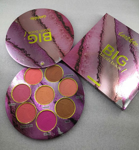 por ePacket New Face Maquiagem Marca BIG Blush LIVRO paleta 3 corar 8 cores Blushes Marcador Limited Edition
