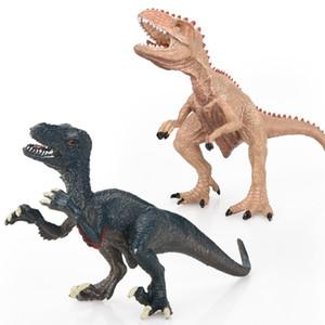Dinosaurio del Jurásico Modelo Cross Border clásico dinosaurio de juguete de modelo Behemoth Dragón hoz diente largo tiburón dragón Tyrannosaurus