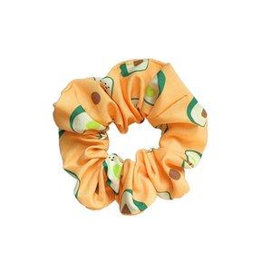 Ins fashion fruits women scrunchies girls hair scrunchies girls hairbands hair accessories for women designer hair bands B1460