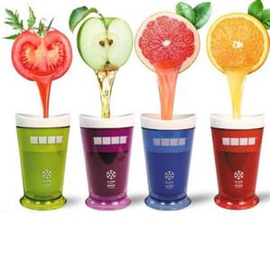 Ice Cream Shake Slush fabricante Slushy Batido Batido Copa Creative Kids nuevas frutas taza de jugo de frutas Copas de arena Herramientas GGA3410