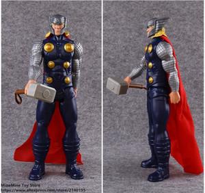ZXZ Marvel Avengers Thor 30 cm Action Figure Anime Mini Dekorasyon PVC Koleksiyon Heykelcik Oyuncak modeli için çocuk hediye