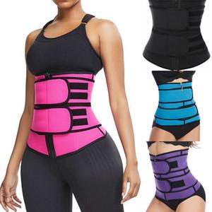 Las mujeres de verano Deportes Sculpting del cuerpo de la correa de la cintura o abdomen Formación cintura de la correa de la correa de cintura de la yoga o de la panza de la talladora del cuerpo Sculptingbelt CALIENTE