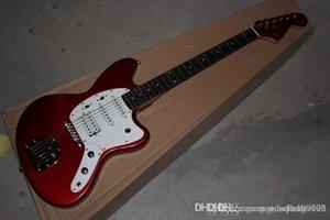 Na guitarra elétrica fábrica Golden Guitar JAGUAR Custom Shop stratocaster da