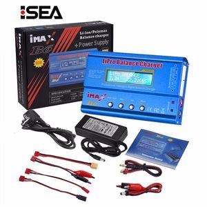 HTRC iMAX B6 80W Ladegerät Lipo NiMh Li-Ionen-Ni-Cd-Digital-RC IMAX B6 Lipro Balance Ladegerät Entlader + 15V 6A Adapter T191019
