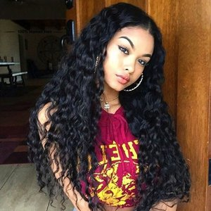 Curly Lace Wig Deep Wave 360 Full Lace Hair Wigs With Baby Hair Factory Wholesale Price 360 Lace Wigs Deep Wave