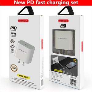 18Вт быстрой зарядки зарядное устройство БП для iPhone 11 Про 8 Плюс ХС хз Макс Тип USB США ЕС Великобритании путешествия адаптер питания