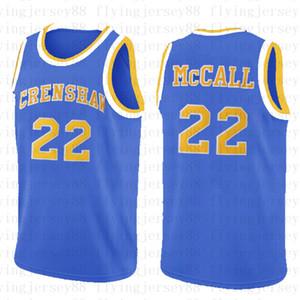 사랑 농구 영화 MCCall 22 영화 저지 14 윌 스미스 25 칼튼 뱅크스 대학 농구 자수 로고를 착용