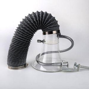solda de estanho de soldadura linha de montagem tampa Corno tubo exaustor fumo de escape capa