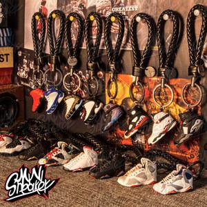 Подвешенная обувь ручной работы спортивной модели КНОПКА Баскетбол обувь Mini Висячей День рождение Подарки Automobile 7-10 серия