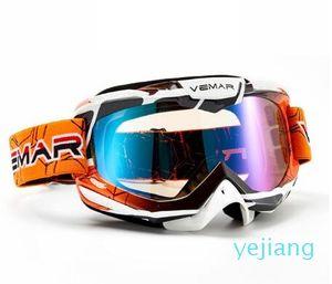 luxury- adulte lunettes moto lunettes Motocross hommes femmes polarisées moto mx ski goggle lunettes pour VTT dirt bike moto