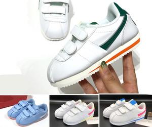 Cortez Kinder Laufschuhe Mesh-Blau Weiß Schwarz Kinder Kleinkind NewBorn Baby-beiläufige Trainer Junge Mädchen Turnschuhe td Säuglings-Baby-Geschenk-6C-3J