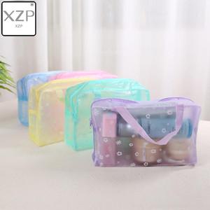 2019 nuovo modo impermeabile portatile di trucco trucco cosmetico toilette cosmetico di lavaggio Spazzolino Pouch Bag Organizer