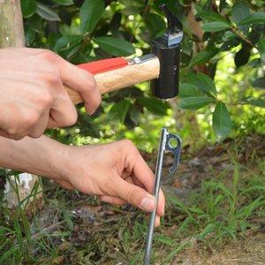5Pcs Heavy Duty 304 acciaio inossidabile di campeggio Tenda Tenda Picchetto per l'ancoraggio della tenda Tarps paesaggistica piante di giardino, tende e rifugi