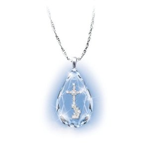 New Hot Multiple Style Crystal Necklace Cross Heaven Ladder Pendant Necklace, fashion necklace