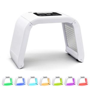 7 Cor PDT Terapia Led Light Machine Para rejuvenescimento da pele Photon Yellow Red Light Led Máscara Facial Beauty Equipment Uso Doméstico