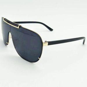 Esplosione della struttura del metallo degli occhiali da sole Uomo Donna bella faccia occhiali da sole della visiera Occhiali Occhiali Equitazione marca di alta qualità 3 colori