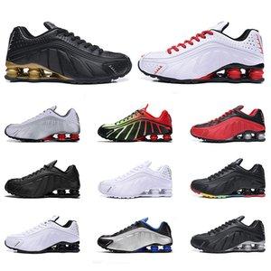 OG R4 Scarpe da corsa Mens Sneakers CONSEGNARE Triple Black White Sfida Rosso Navy Arancio Argento-oro uomini allenatore sportivo 7-12 Drop Shipping