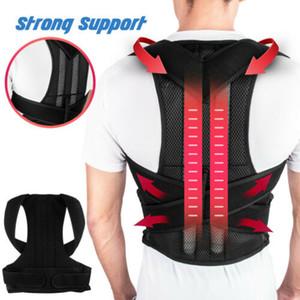 Zurück Lage-Korrektor-Schulter-Korrektur verstellbare Rücken Stützgurt US